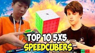 Top 10 5x5 Speedcubers 2016