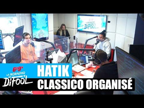 Youtube: Hatik dans l'album«Classico Organisé» avec Jul! #MorningDeDifool