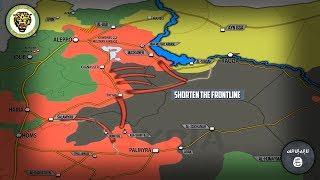 9 июня 2017. Военная обстановка в Сирии. Армия отбила у ИГИЛ порядка 24 деревень. Русский перевод.