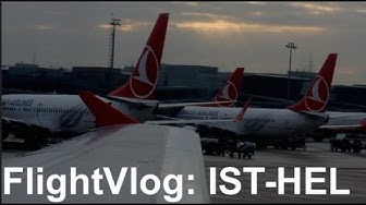 TRIP REPORT - Turkish Airlines flight Istanbul to Helsinki