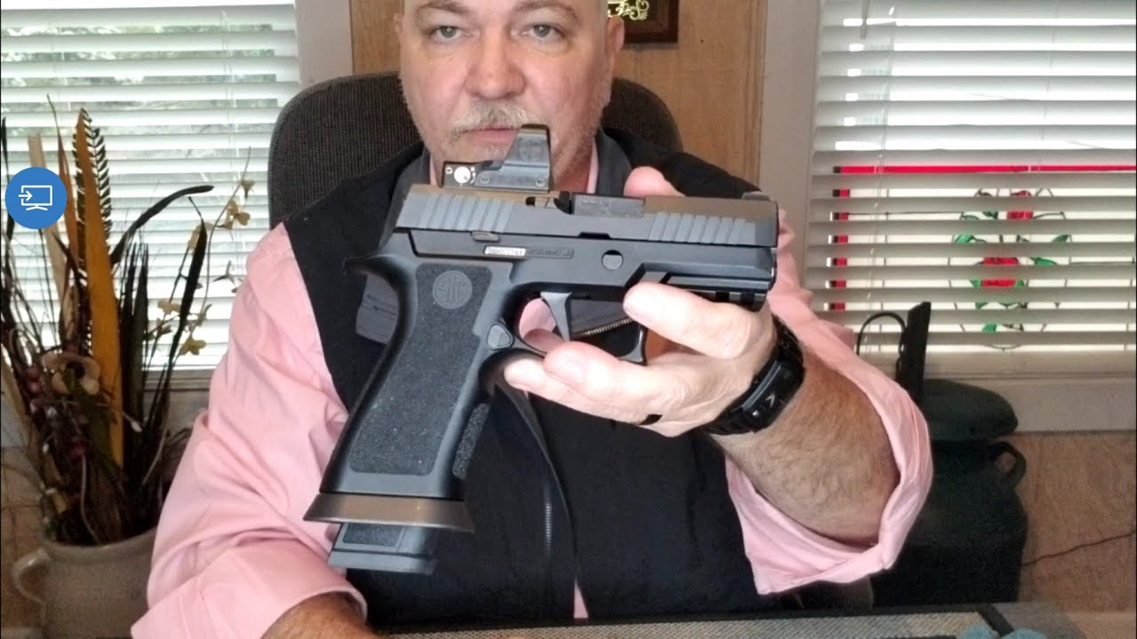 Sig Sauer P320 X Compact With The Sig P320 X5 Lower Grip Module