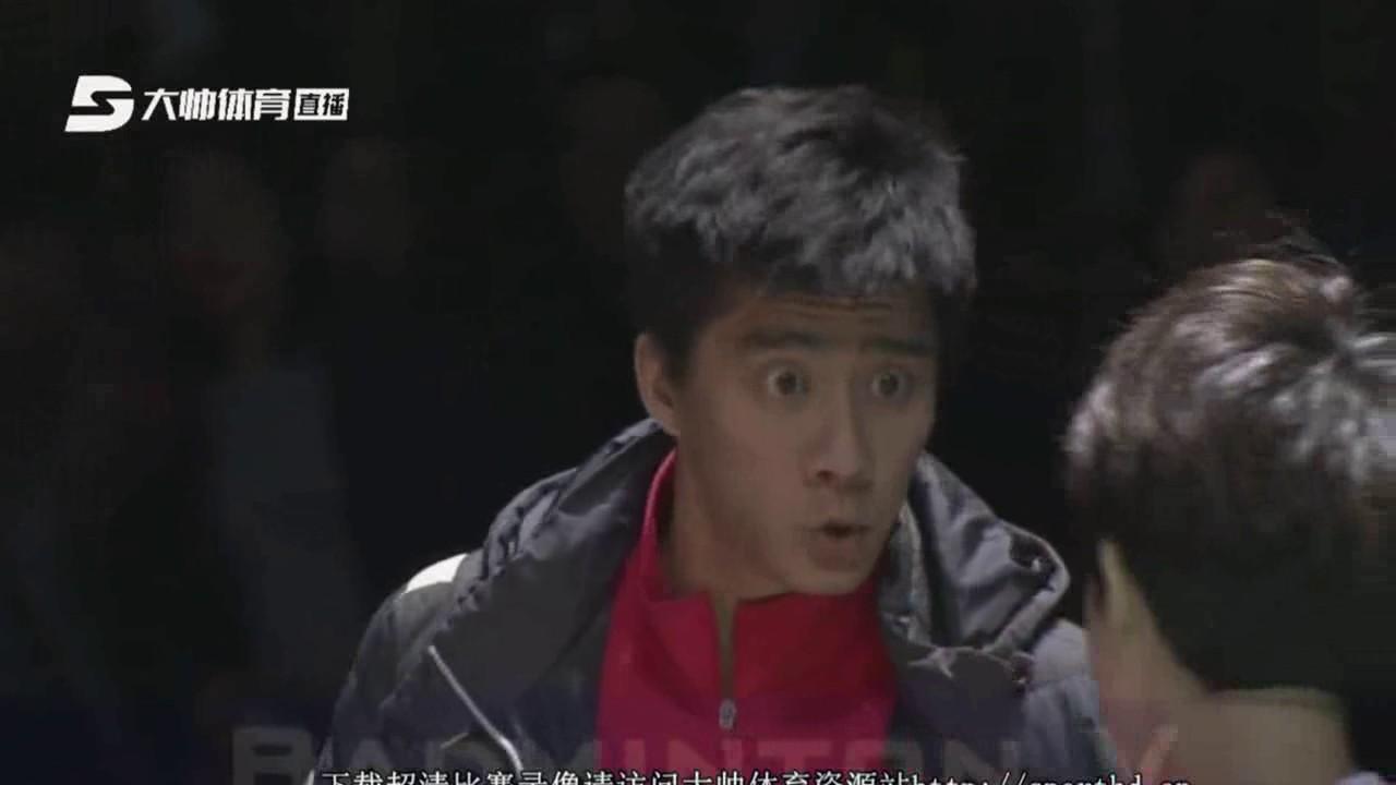 Badminton 2017 CBSL Final Luo Ying Luo Yu vs Yu Xiaohan Hu Yuxiang