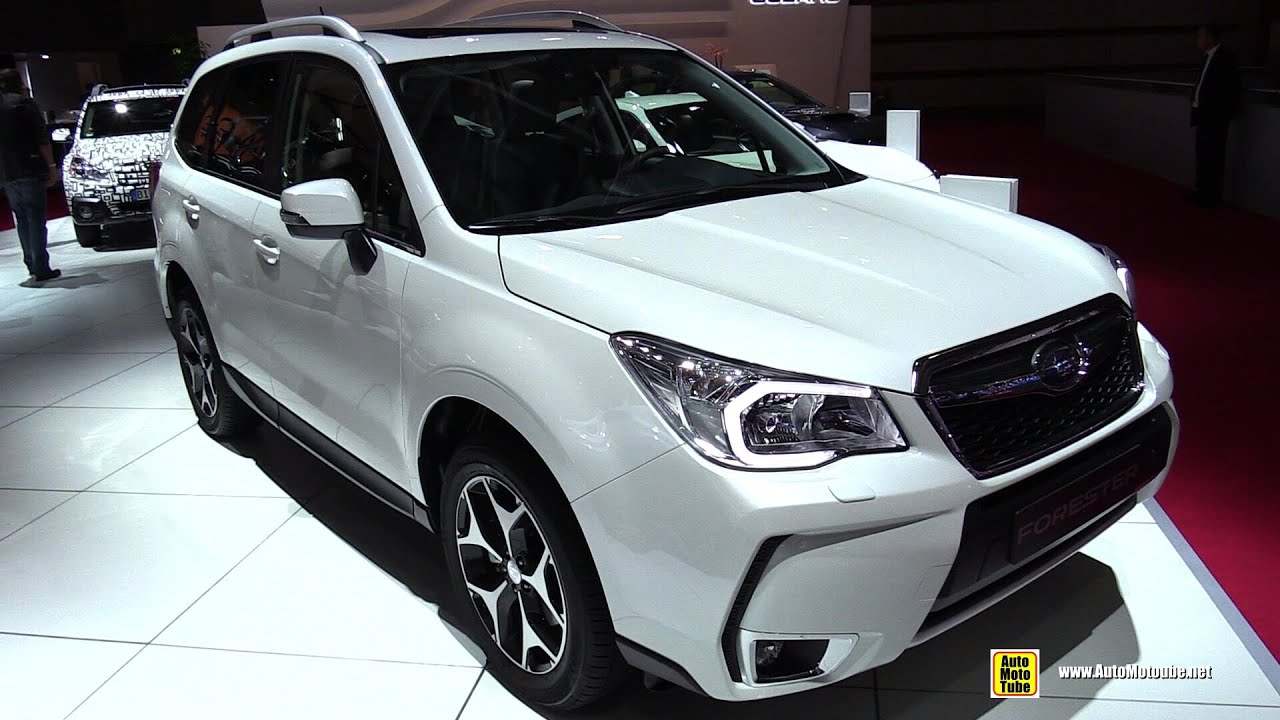 2015 subaru forester 2 0 xt exterior and interior walkaround 2014 paris auto show youtube. Black Bedroom Furniture Sets. Home Design Ideas