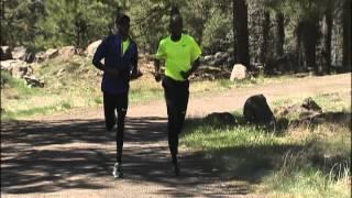 Tucson Olympic Hopefuls   Bernard Lagat & Abdi Abdirahman