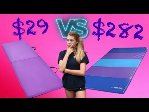 CHEAP VS EXPENSIVE: Gymnastics Equipment!