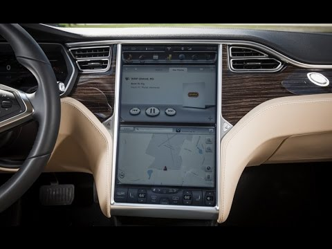 new tesla model s interior 2017 revie youtube. Black Bedroom Furniture Sets. Home Design Ideas
