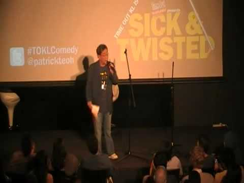Patrick Teoh's standup comedy debut 2011.