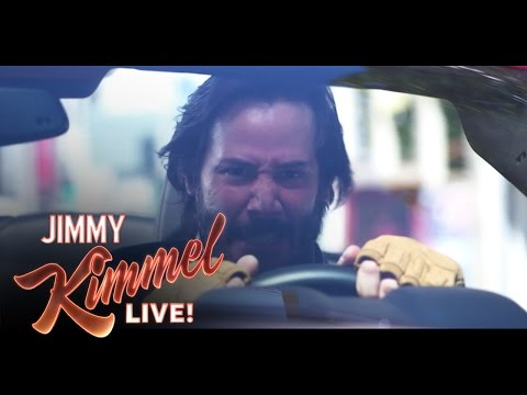 """A Reasonable Speed"" with Jimmy Kimmel and Keanu Reeves"
