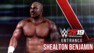 WWE 2K19 Shealton Benjamin Entrance | WWE 2K19 Entrances