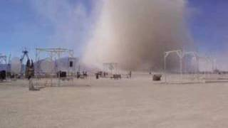 Running Into a Giant Dust Devil