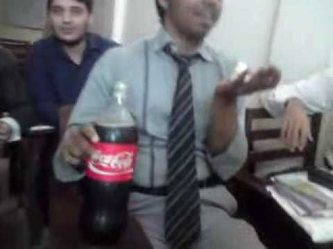 Birthday of Rana Ramiz in Peak Solutions College - Part 1