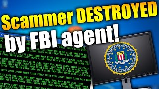 FBI Agent DESTROYS Tech Support Scammer's Call Center! | Tech Support Scammers EXPOSED!