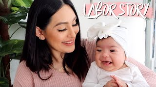 MY LABOR & DELIVERY STORY | 51 HOURS OF LABOR