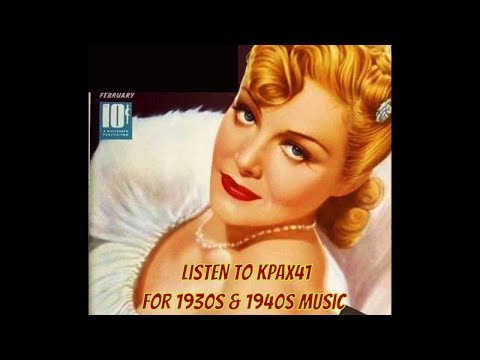 1930s & 1940s Big Band  Music Drives Me Crazy @KPAX41