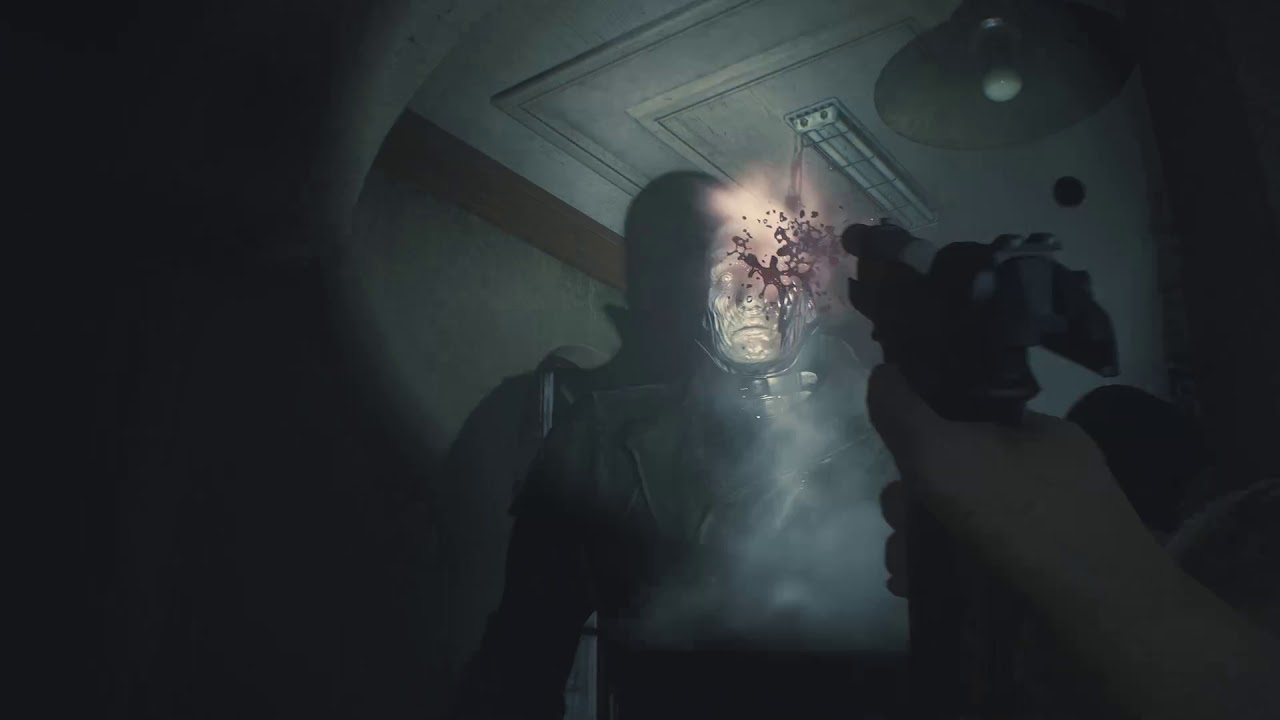 First-person camera mod for Resident Evil 2 Remake available