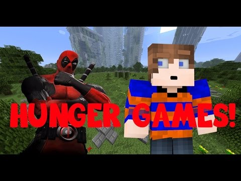 DEADPOOL IN HUNGER GAMES! [Minecraft]