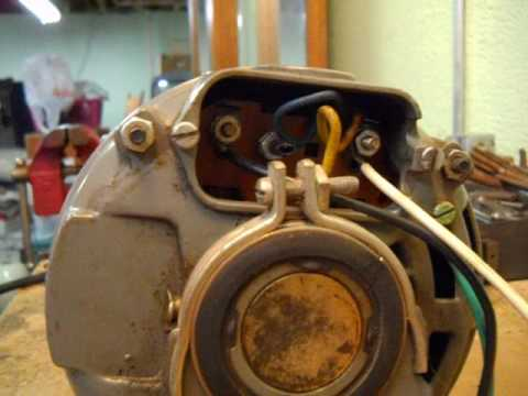 How to change rotation on a dayton 120 volt AC motor - YouTube