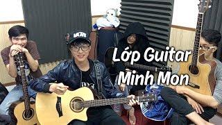 Lớp Guitar Minh Mon - học viên trả bài