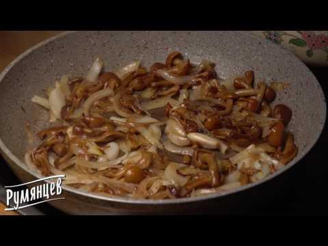 Жареная картошка с опятами - рецепт от компании Румянцев