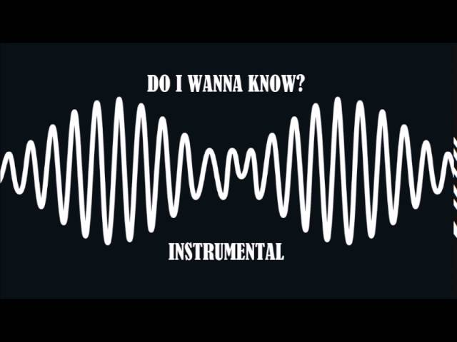Arctic Monkeys Do I Wanna Know Official Instrumental Chords