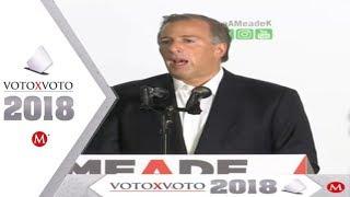 Meade reconoce derrota y le desea suerte a AMLO thumbnail