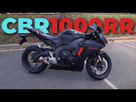 2018 Honda CBR1000RR - Review - rideXdrive