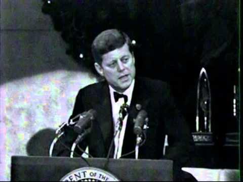 JFK Thanks Judy Garland and Burt Lancaster