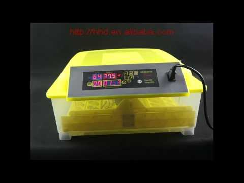 HHD Automatic 48 egg incubator introduction and operation YZ8-48