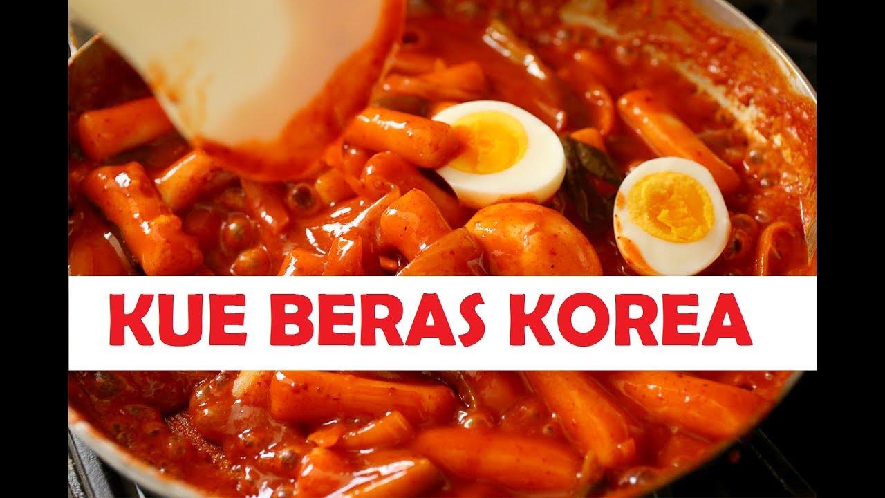 Resep Kue Beras Korea Tteokbokki Yang Mudah Di Buat Youtube