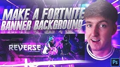 How To Make a Fortnite Youtube Banner/Twitter Header In Photoshop! 2019