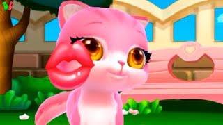 Забота о Животных Мой Пушистик #7 Любовь Котенка Учимся ухаживать Развивающее видео