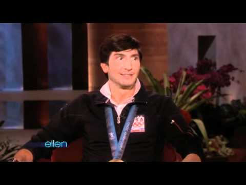 Gold Medal Winner Evan Lysacek Visits Ellen