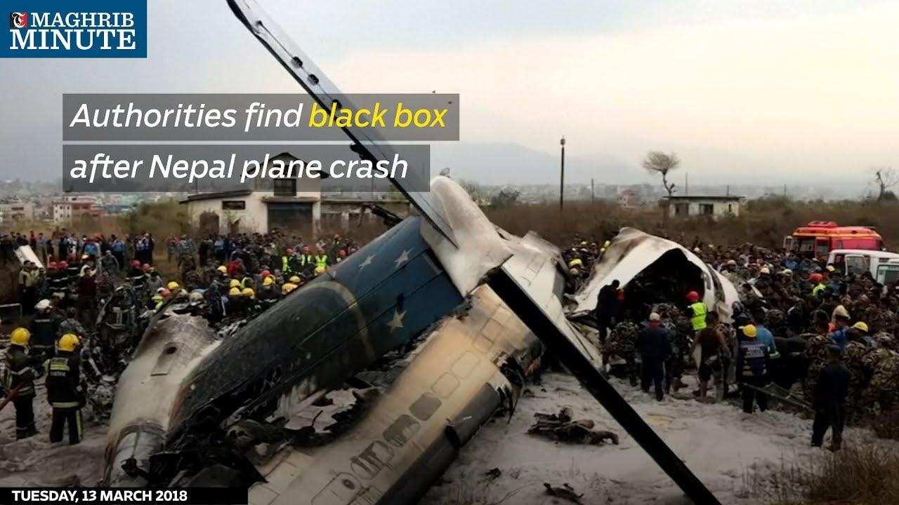 Authorities find black box after Nepal plane crash
