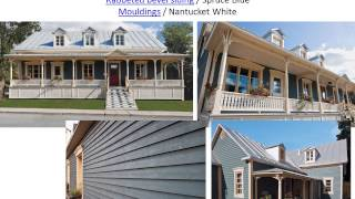 Maibec Projects With Genuine Wood Siding
