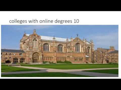 colleges with online degrees 10 1
