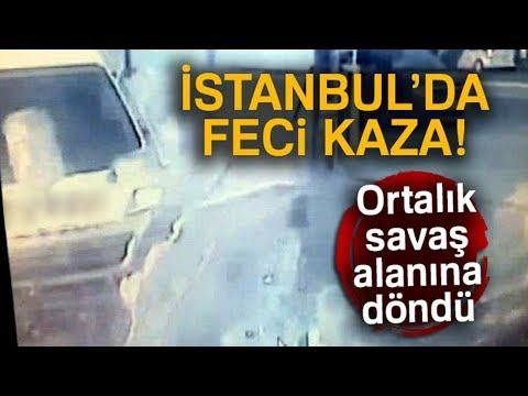 İstanbul'da Servis Minibüsünün...
