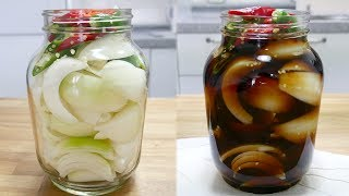 양파장아찌 ( Korean Style Onion Pickles )