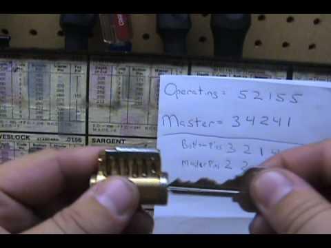 Locksmithing 101 Masterkeying