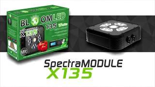 Présentation de l'éclairage horticole LED SpectraMODULE X135