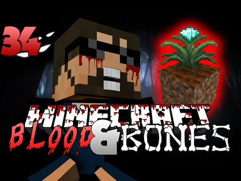 Minecraft FTB Blood and Bones 34 - AUTO MAGICAL CROPS