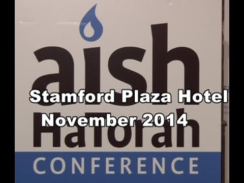 aish HaTorah November 2014 Conference from Israel - Steve Gar       videographer - video-maven.com