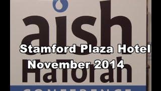 aish HaTorah November 2014 Conference from Israel - Steve Gar       videographer - video-maven.com