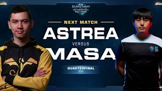 Astrea vs MaSa PvT - Quarterfinals - WCS Challenger NA Season 2