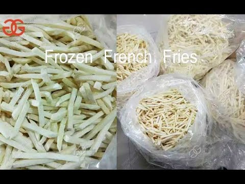 Fresh French Fries Machine Fully Automatic Production Line Potato Finger Chips Equipment GELGOOG