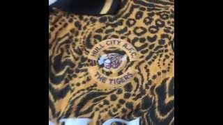Classic Football Shirts - Hull City Tiger Print Shirt 1993/94