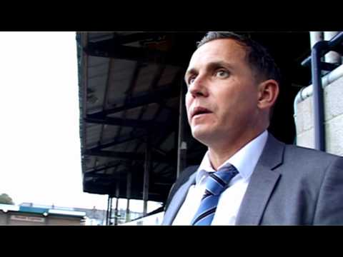 Paul Buckle post match interview after Morecambe win