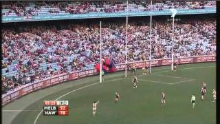 AFL 2011 Round 18 Highlights: Melbourne V Hawthorn