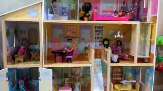 Beli Mainan Rumah Barbie Jumbo Unboxing KidKraft Majestic Mansion DollHouse