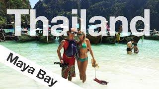 Backpacking Thailand Vlog - Day trip on Koh Phi Phi to Maya Bay