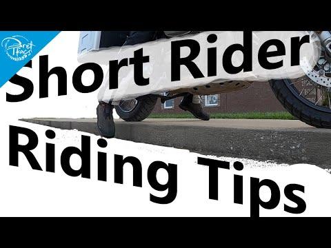 Short rider riding tips